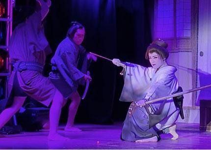 画像:演劇